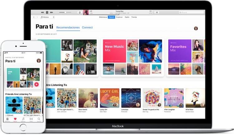 Apple Music Para ti