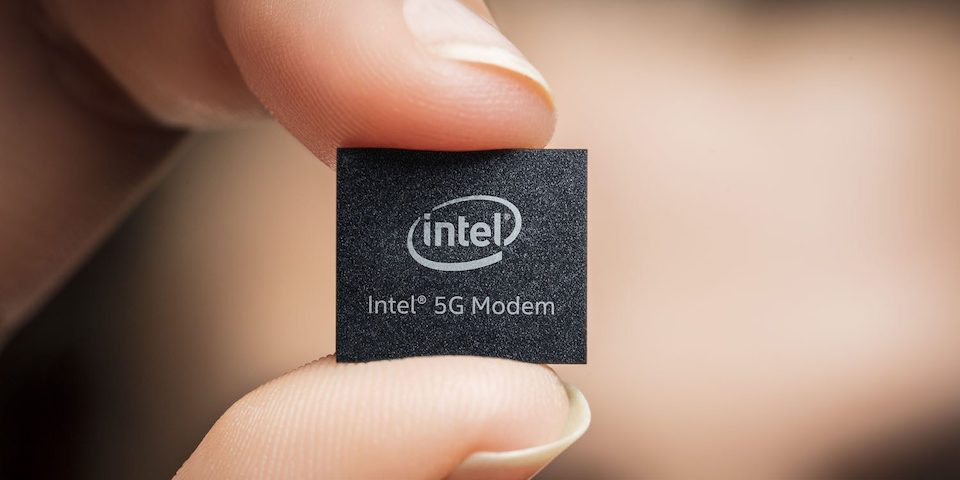 chip modem 5G intel