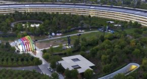 Apple Park a vista de dron