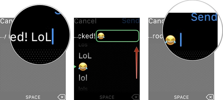 emojis en Apple Watch