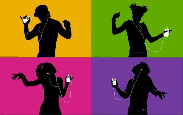 iPod silhouette ipod