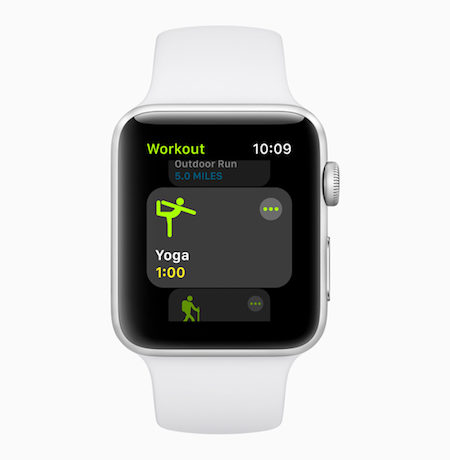 watchOS 5 - Yoga