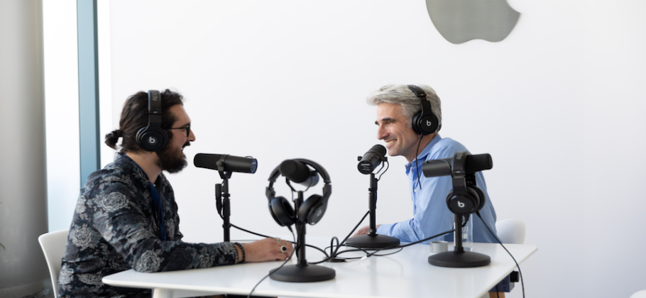 Craig Federighi es entrevistado por Federico Viticci