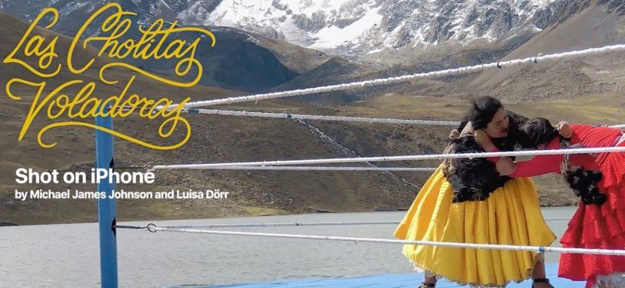 Shot on iPhone XS — Las Cholitas Voladoras