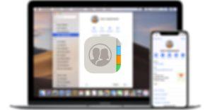 app Contactos iOS y macOS