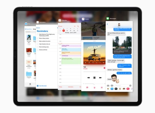 iPadOS - Split View y Slide Over