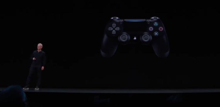 tvOS 13 - mando Playstation