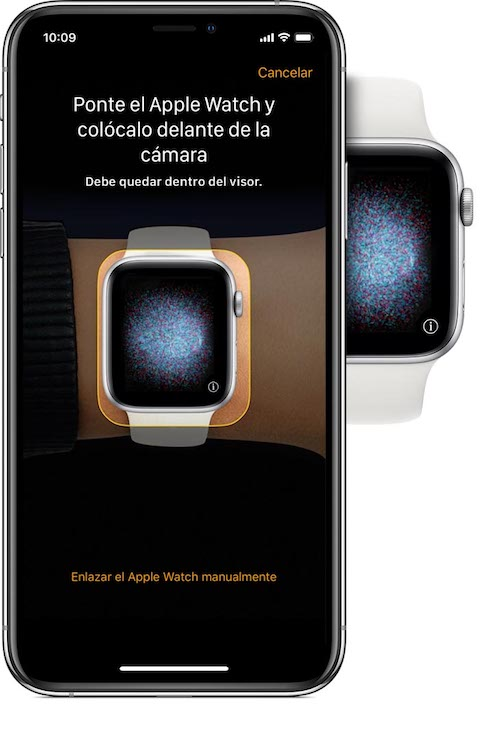 Emparejando Apple Watch
