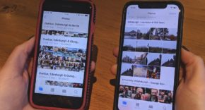 limpiar rápidamente las fotos en iPhone