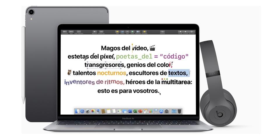 Vuelta a clase de Apple 2019