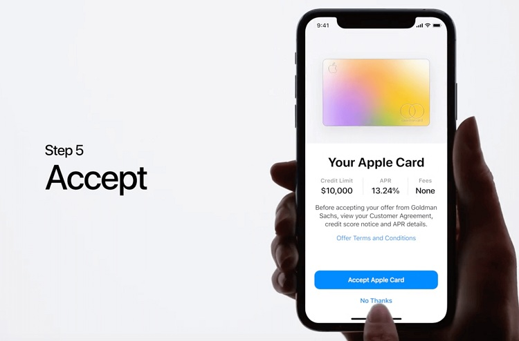 Apple Card en Estados Unidos