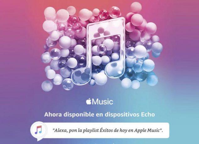 Apple Music en los dispositivos Amazon Echo