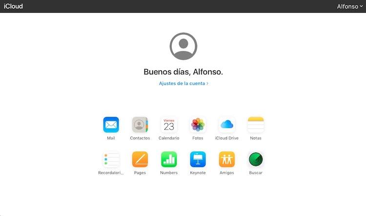 Beta de la Web de iCloud.com