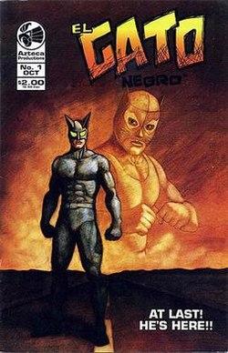 Comic El Gato Negro