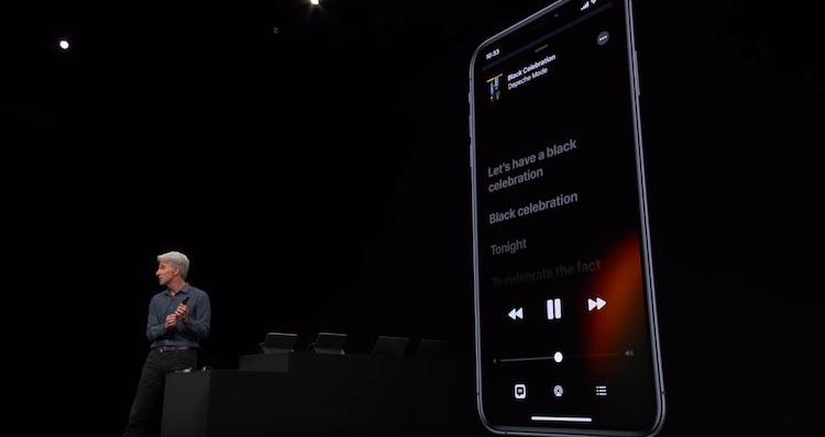 Craig Federighi en la WWDC 2019