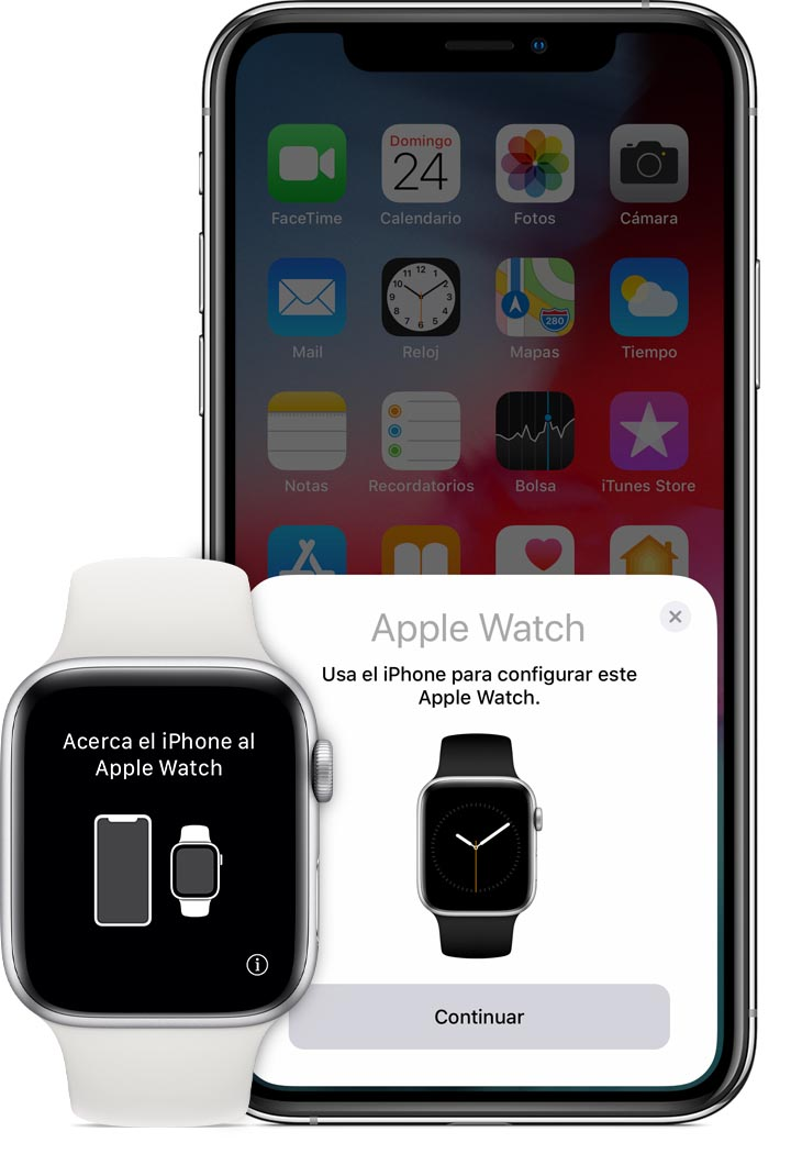 Enlazar Apple Watch