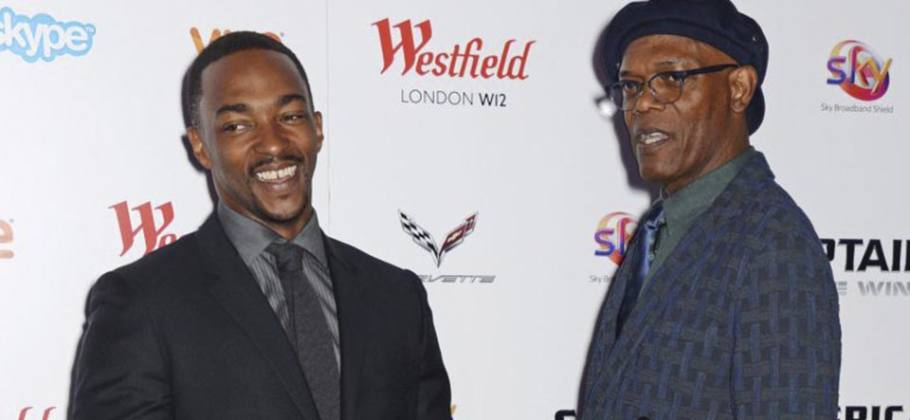 "Samuel L. Jackson y Anthony Mackie juntos en la película ""The Banker"" en Apple TV+"
