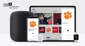 Colaboración de TuneIn y Apple