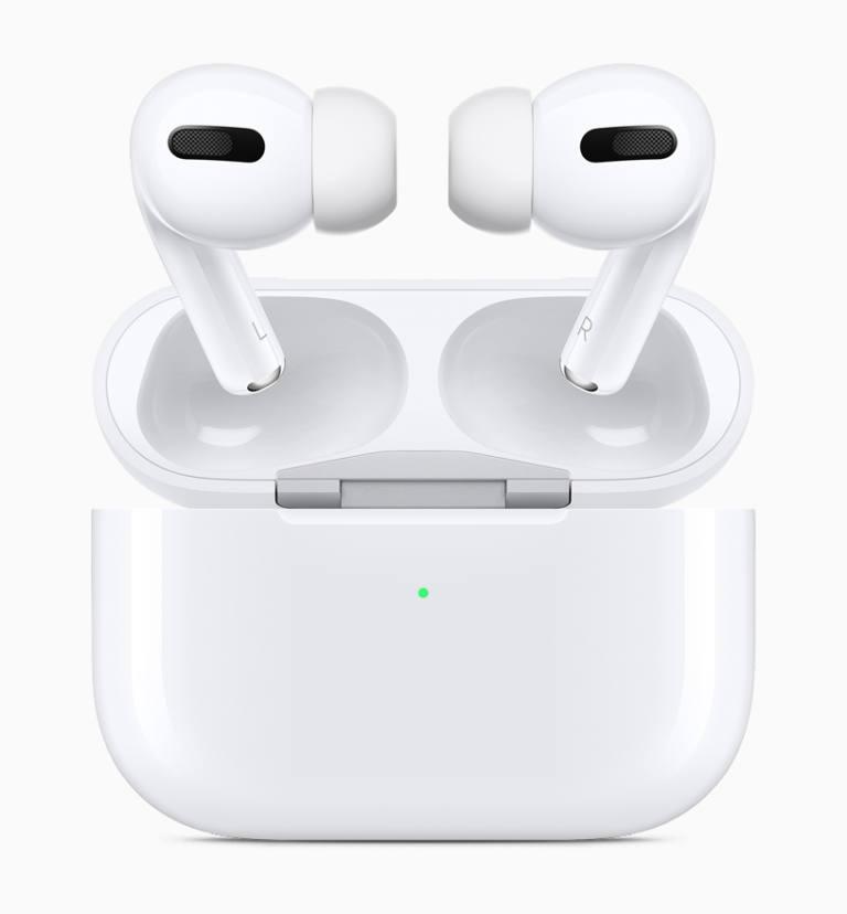 Nuevo estuche inalámbrico para los AirPods Pro (Foto: Apple)