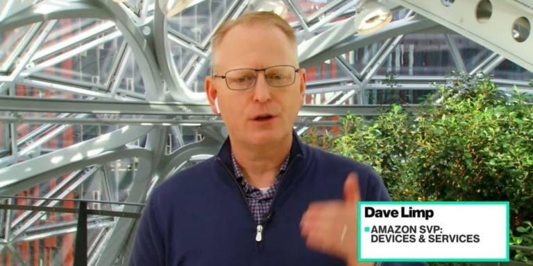 Dave Limp con AirPods