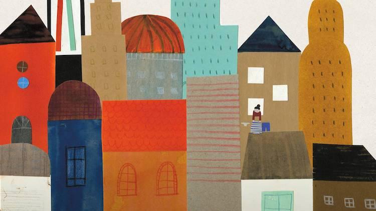 Estudio de arte para niños: Crea tu barrio con Blanca Gómez