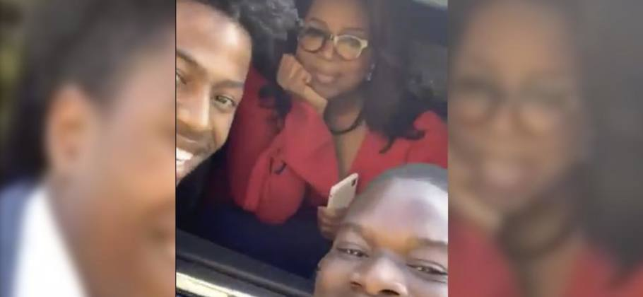 Oprah Winfrey regala un iPhone 11 a un estudiante