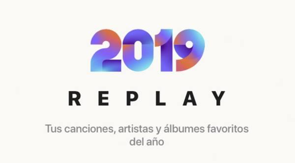 Apple Music - playlist Replay 2019