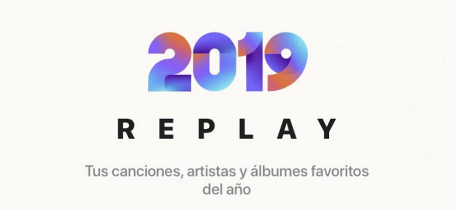 Apple Music - playlist Replay 2019