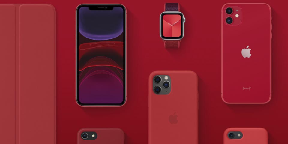 Product (RED) Apple