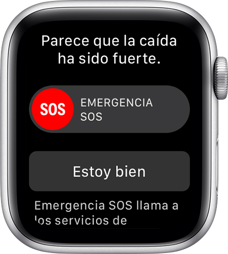 Apple Watch - detector de caídas