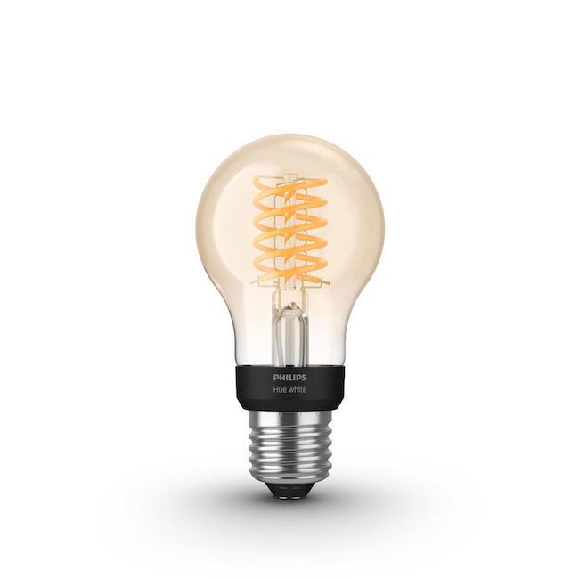 Philips Hue White Bombilla LED inteligente E27 filamento Bluetooth