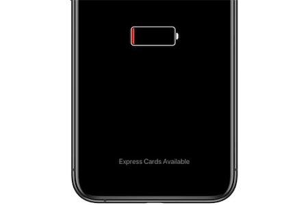 Apple Pay sin batería en el iPhone