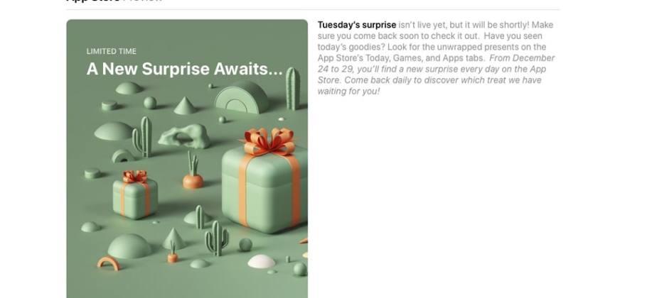 Una nueva sorpresa espera en la App Store - Navidad 2019