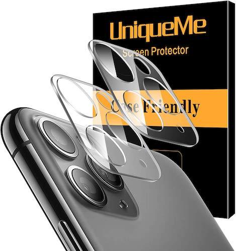 2 protectores de UniqueMepara la cámara trasera del iPhone 11
