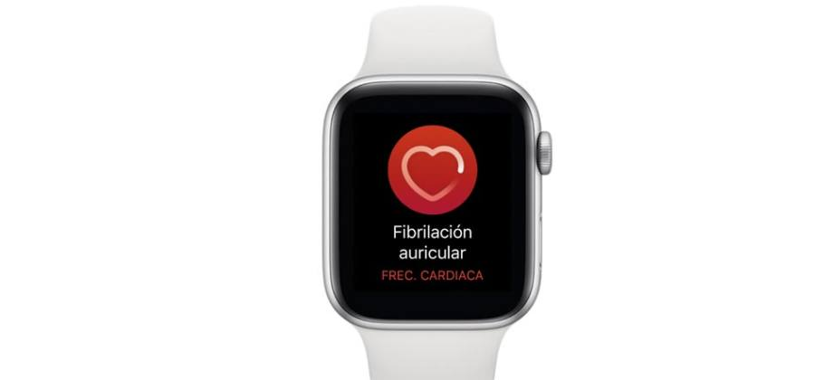 Apple Watch fibrilación auricular