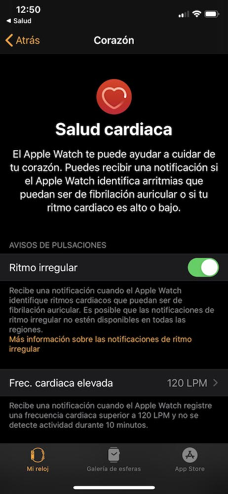 app Apple Watch fibrilación auricular