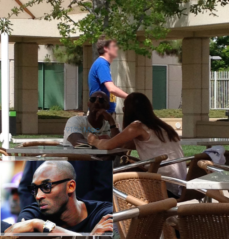 Kobe Bryant en el Apple Campus 1 Infinite Loop
