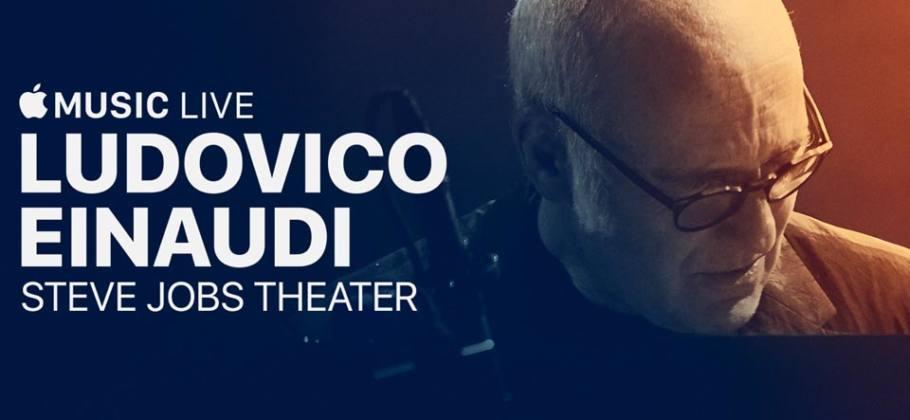 Concierto de Ludovico Einaudi en el Steve Jobs Theater