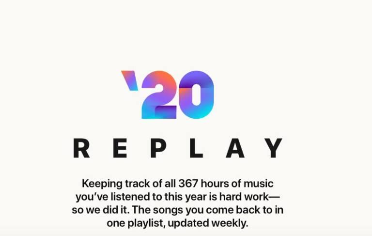 Horas actuales de Apple Music