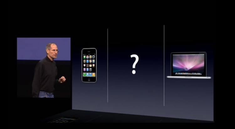 Lanzamiento del iPad por Steve Jobs