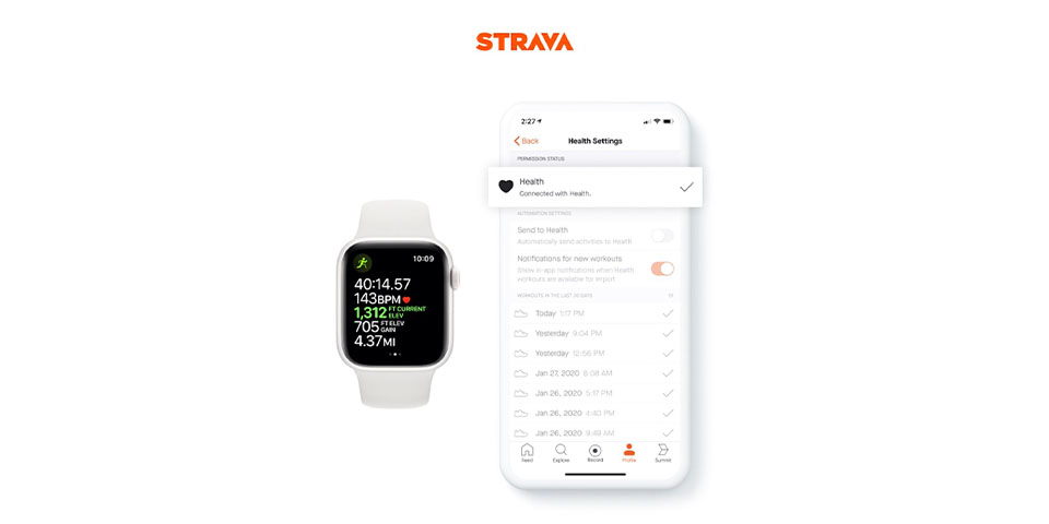 Strava para Apple Watch