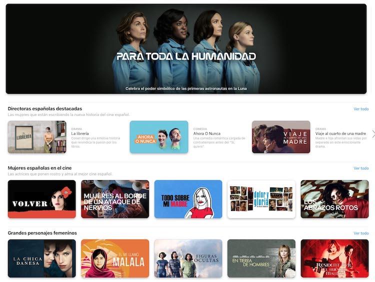 Apple TV - Día de la mujer 2020