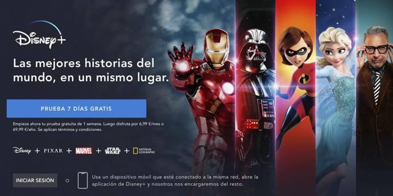 app Disney +