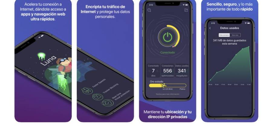 Luna VPN bloqueada