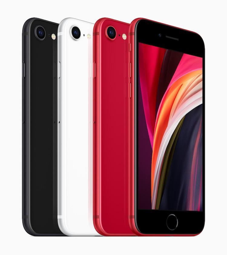 iPhone SE 2020 disponible en Negro, blanco y (PRODUCT)RED
