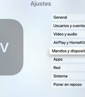 Ajustes Apple TV