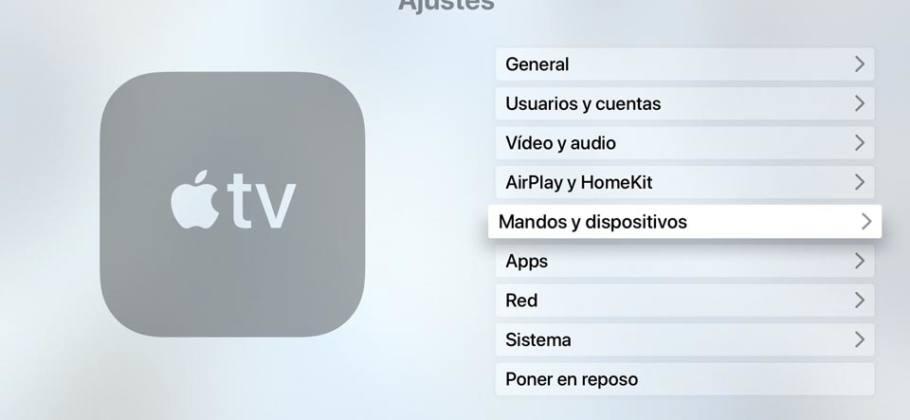Ajustes Apple TV