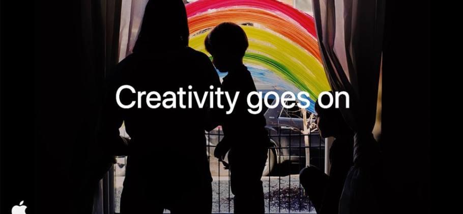 Creativity goes on