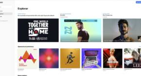 web de Apple Music