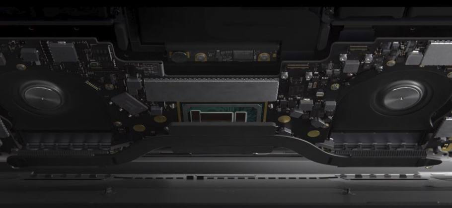 Interior MacBook Pro